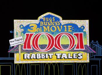 1001 Rabbit Tales Title Card