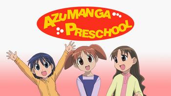Azumanga Preschool Fan-Made Poster