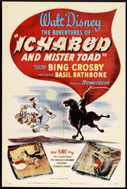 The adventures of ichabod and mr toad poster