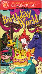 Birthday World VHS Cover
