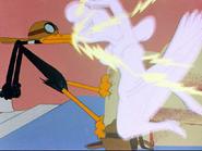 Plane Daffy Sound Ideas, CARTOON, LIGHTNING - LARGE BOLT OF LIGHTNING STRIKING, WEATHER-2