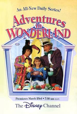 Adventures in wonderland poster