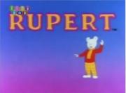 Rupert 1991 tv series title