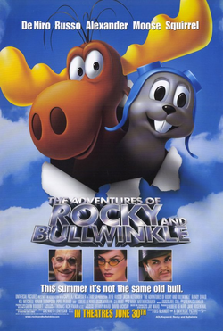 The adventures of rocky and bullwinkle 2000 poster