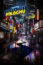 Detective Pikachu Poster