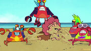 Teen Titans Go! Baby Kate Cry in Crab Shenanigans