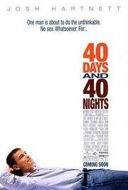 40 Days & 40 Nights movie