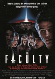 The Faculty movie poster