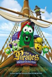 The Pirates Who Don't Do Anything A VeggieTales Movie Poster