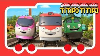 Titipo Opening Song l Meet a new friend of Tayo l Train Song l TITIPO TITIPO-3