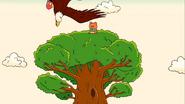 Uncle Grandpa Uncle Grandpa Sitter Bird Hawk Single Scre PE020801 2