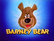 Barney Bear Title Card