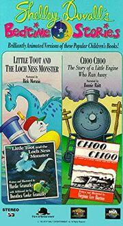 Shelley Duvall's Bedtime Stories Little Toot; Choo Choo