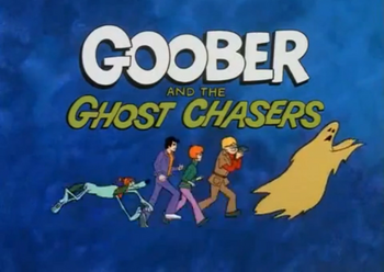 Goober and the ghost chasers title