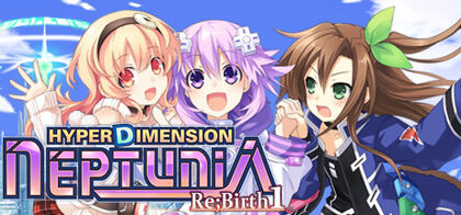 Hyperdimension Neptunia Re;Birth1 Cover