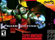 Killer Instinct SNES Box Art