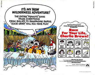 Race for Your Life Charlie Brown Poster