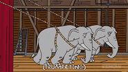 The Simpsons Hollywoodedge, Elephant Trumpeting PE024801 2