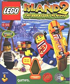 LegoIsland2TheBrickster'sRevenge CoverArt