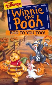 Boo To You Too Winnie The Pooh VHS Cover