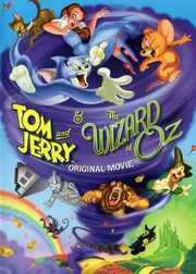 Tom and jerry and the wizard of oz dvd cover