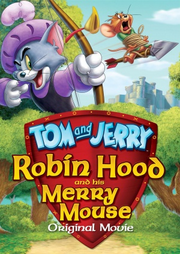 Tom and jerry robin hood and his merry mouse dvd cover
