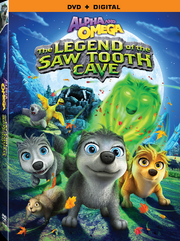 Alpha and omega the legend of the saw toothed cave dvd cover