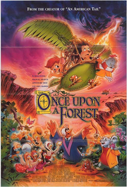 Once Upon a Forest Poster