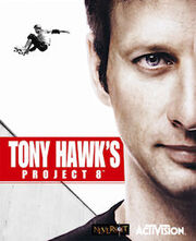 Tony Hawk's Project 8 cover