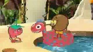 KidsWB Coconut Fred's Fruit Salad Island Intro