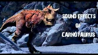 Disney Dinosaur - Carnotaurus Sound Effects