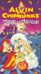 Alvin and the Chipmunks- Trick Or Treason VHS Cover