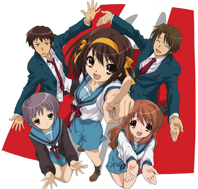 The Melancholy of Haruhi Suzumiya Cover