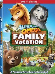 Alpha and omega family vacation dvd cover