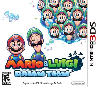 Mario & Luigi - Dream Team Box Art