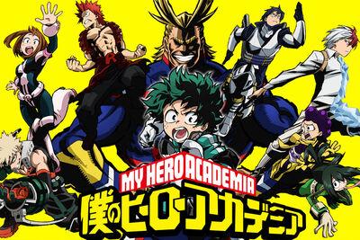 My Hero Academia Cover