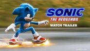Sonic The Hedgehog Official Trailer Paramount Pictures UK