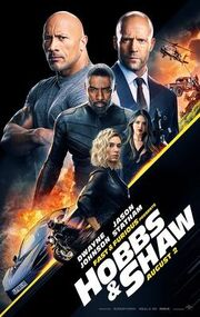 Fast & Furious Presents Hobbs & Shaw theatrical poster