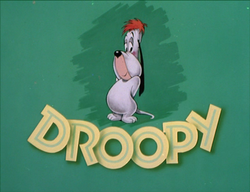 Droopy Cartoon Title Card