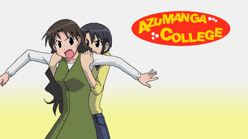 Azumanga College Fan-Made Poster