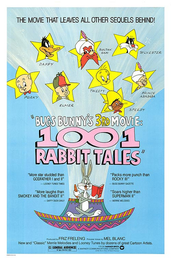 Bugs Bunny's 3rd Movie 1001 Rabbit Tales Poster