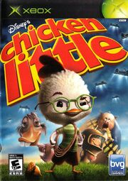 Chicken Little XBOX Cover