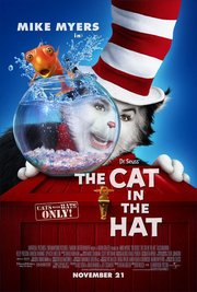 The Cat in the Hat 2003 Poster