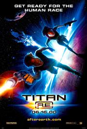 Titan ae poster