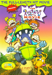 The Rugrats Movie VHS Cover