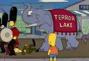 The Simpsons Hollywoodedge, Elephant Trumpeting PE024801 6
