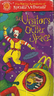 The Visitors from Outer Space VHS Cover