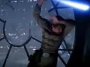 Star Wars V Empire Strikes Back Luke vs. Vader 4-3 screenshot