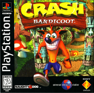 Crash Bandicoot 1 PS1 Box Art