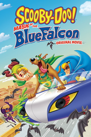Scooby-Doo Mask of the Blue Falcon DVD Cover
